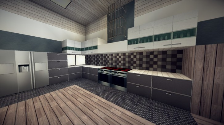Minecraft Modern Kitchen Detail Kitchens