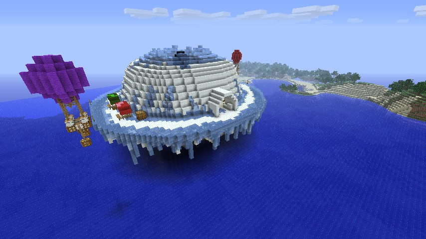 Igloo Town Minecraft Project