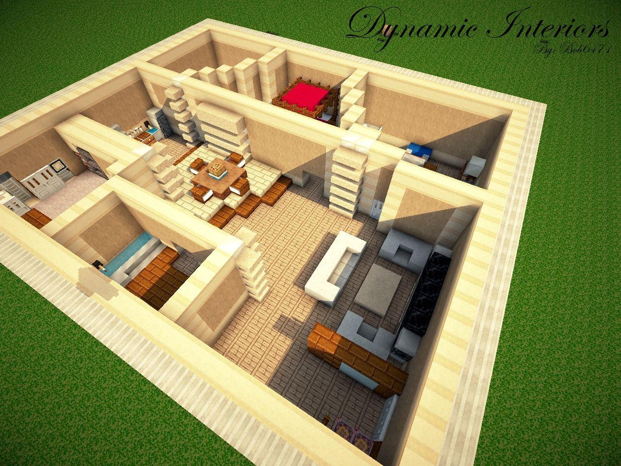 Minecraft Interior Design Walls Novocom Top