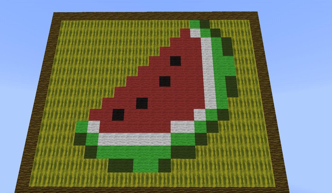 Melon Farm Auto Harvester Minecraft Project