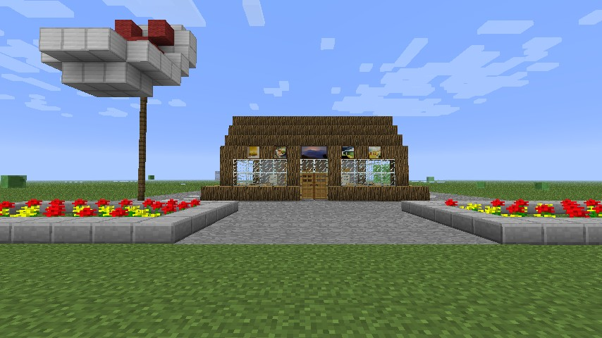 Krusty Krab Minecraft Project