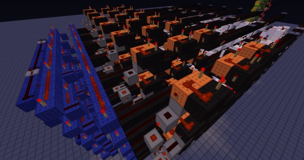 win detection for connect 4 Minecraft Project