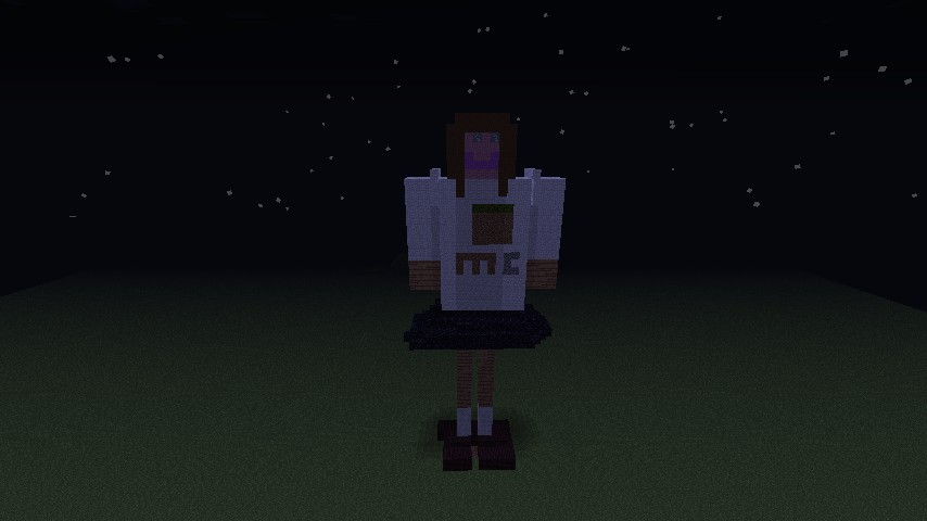 Giant Little Girl Minecraft Project