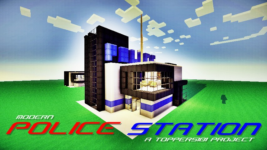 Minecraft Small Police Station