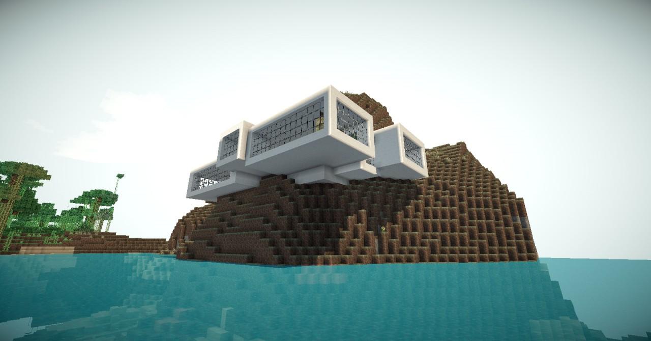 Minecraft Modern House 3 Minecraft Project