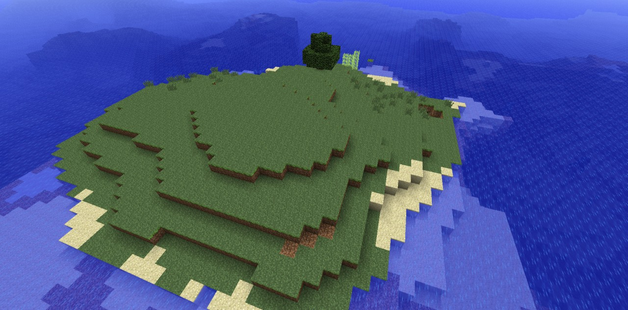 Survival Island Seed Minecraft Project