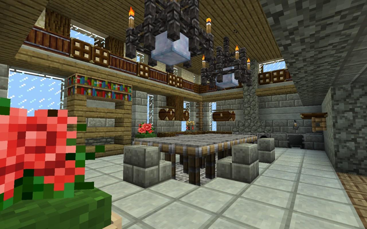 Everantha Salebi Castle Seaview Minecraft Project