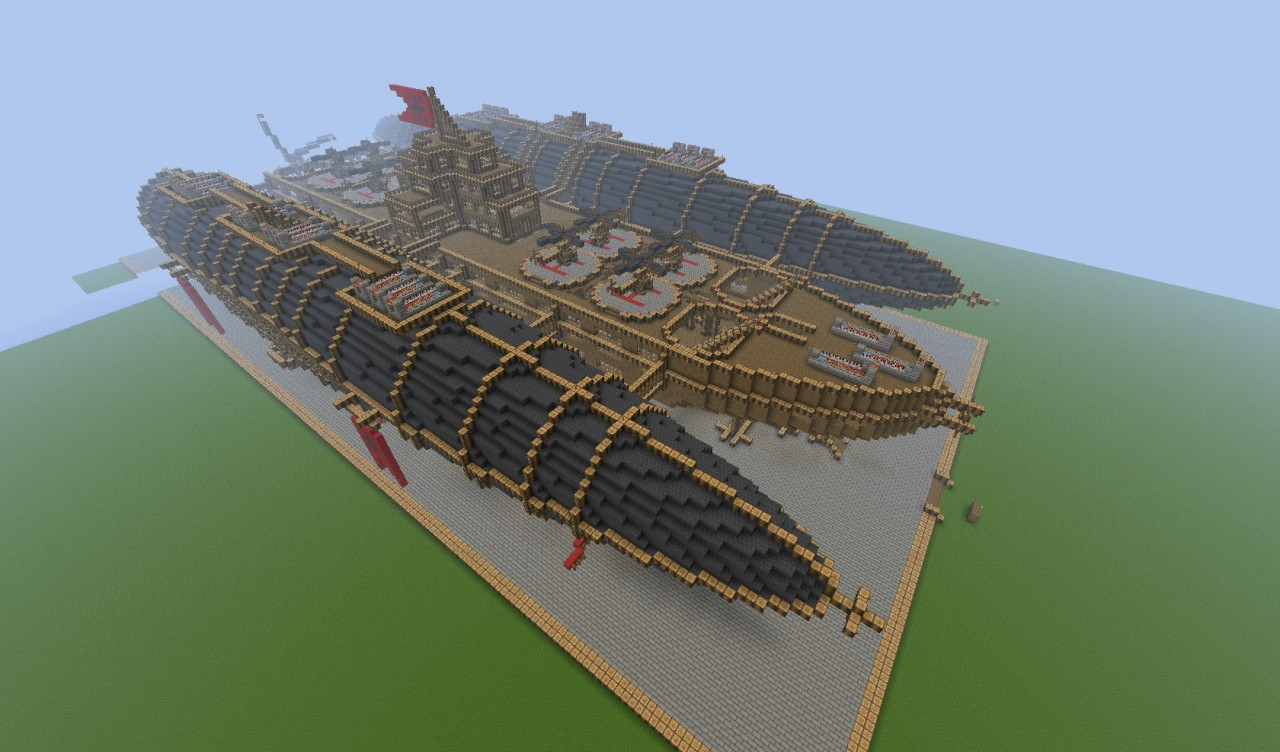 The Flying Fortress Minecraft Project