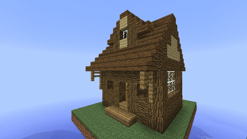 13 Log Cabin New Log Orientation Minecraft Project