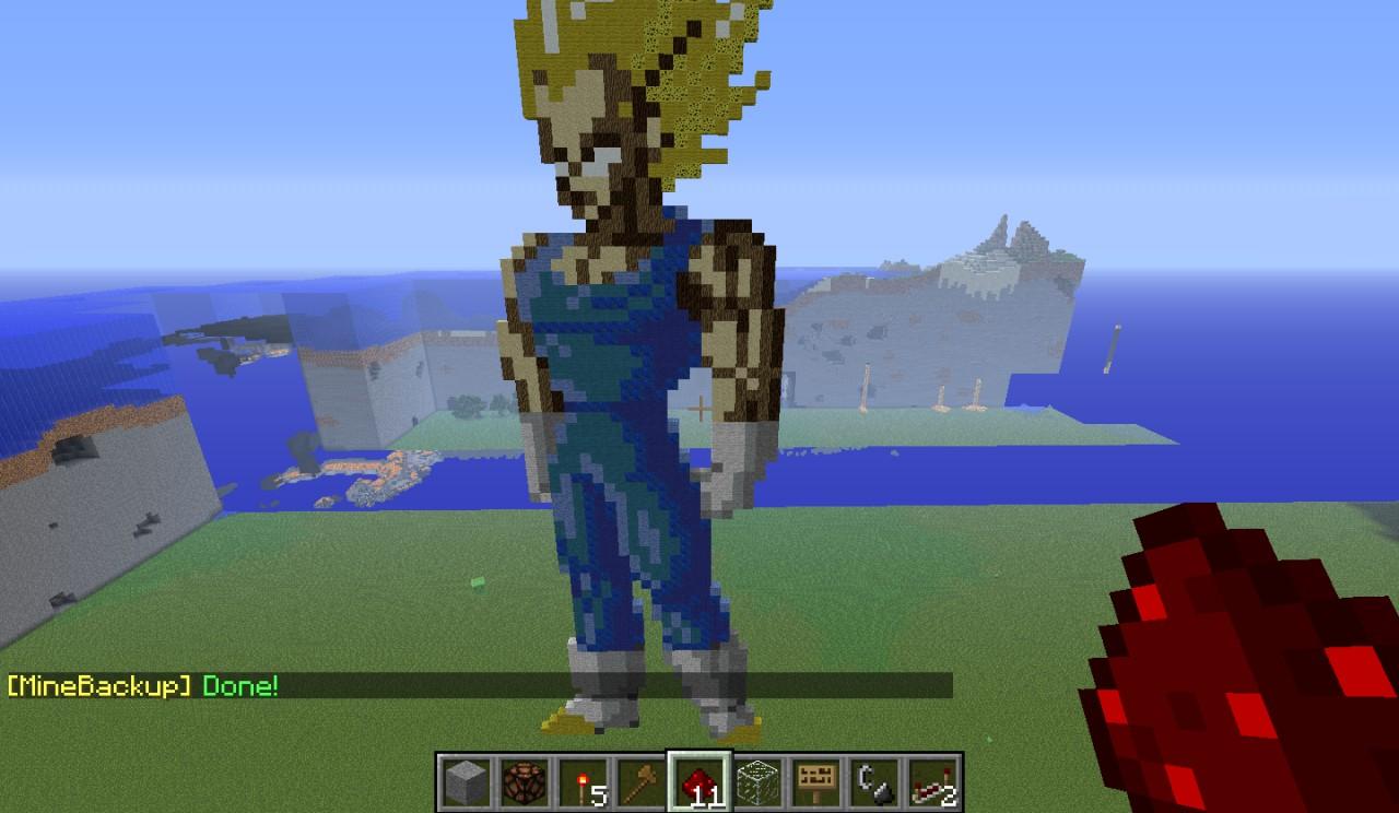 1 Ball Z Dragon 54 2 Mod Mod Minecraft