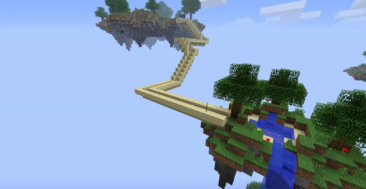Sky WorldAetherMinecraft Heaven Contest Minecraft Project
