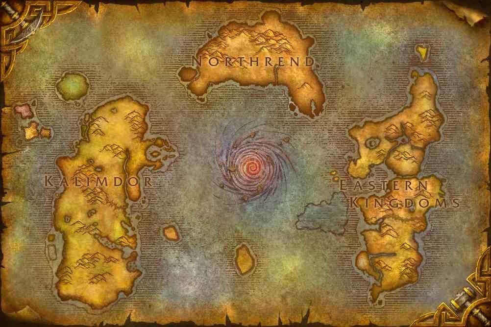 Wow Maps World