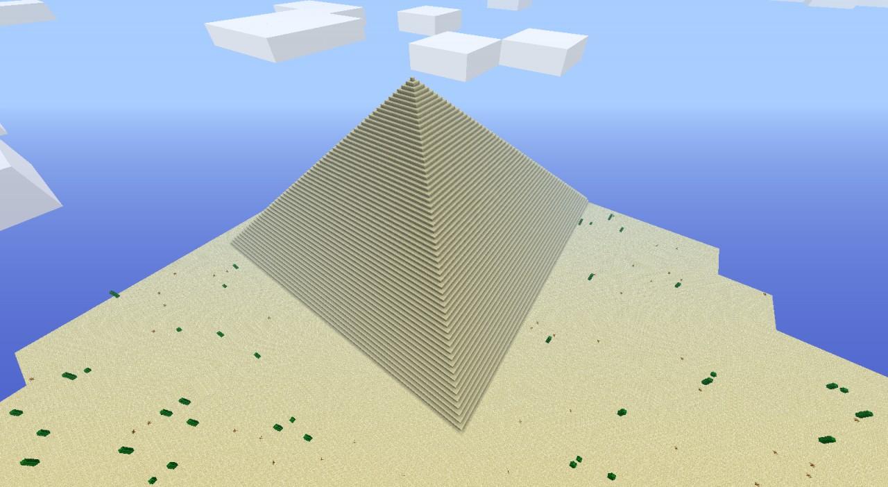 Egyptian Pyramid Minecraft Fire