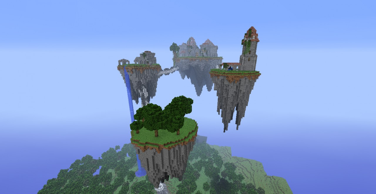 Sky Islands Of Knowledge Minecraft Project