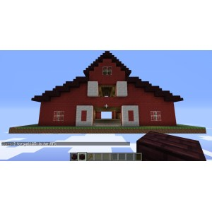 Manly Result Small Minecraft House Ideas Medieval Barnminecraft Pole