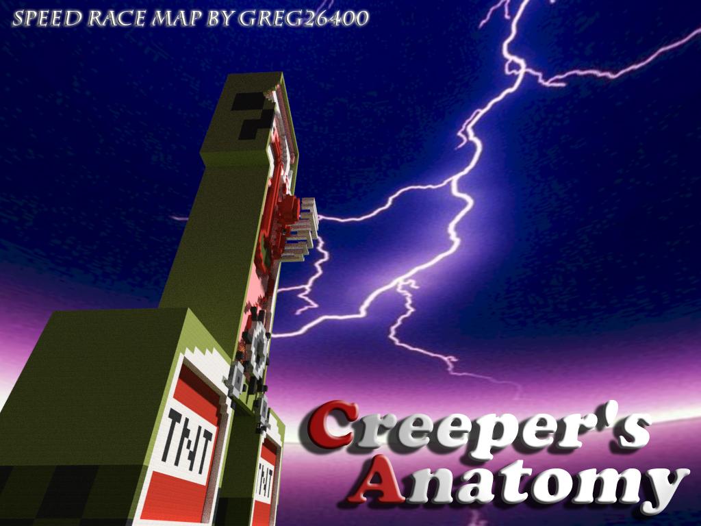 Creepers Anatomy Minecraft Project