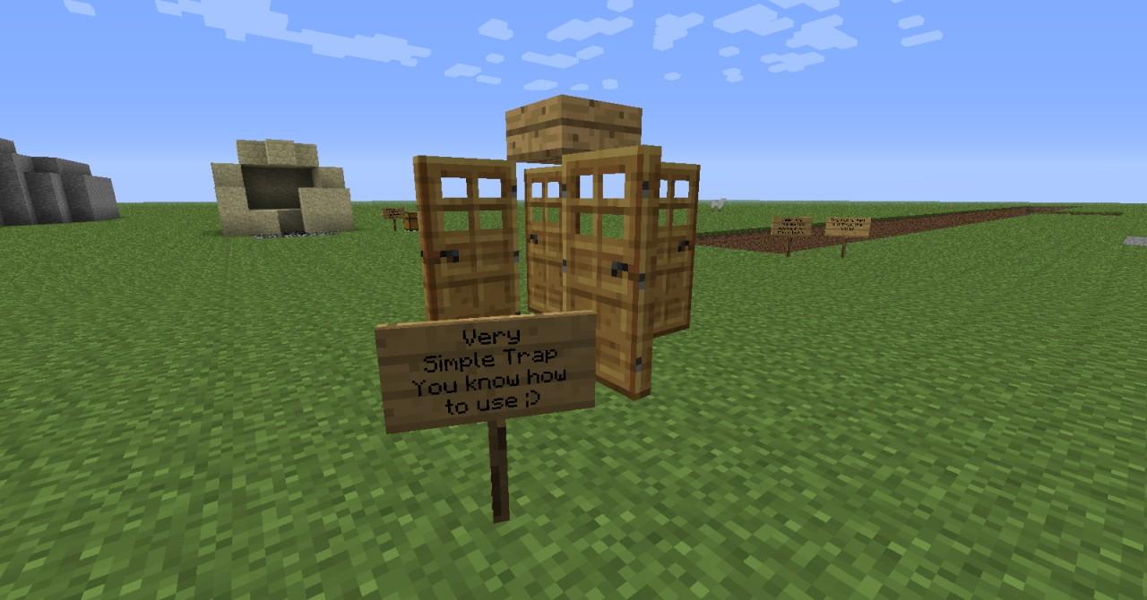 ILoveMC21s Redstone Trap World Minecraft Project