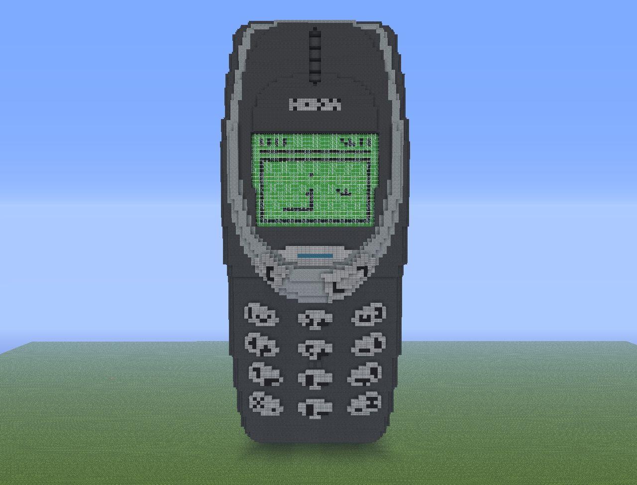 Nokia 3310 Minecraft Project