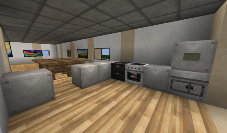 Minecraft Modern Kitchen Ideas Galleryhip Hippest Pics