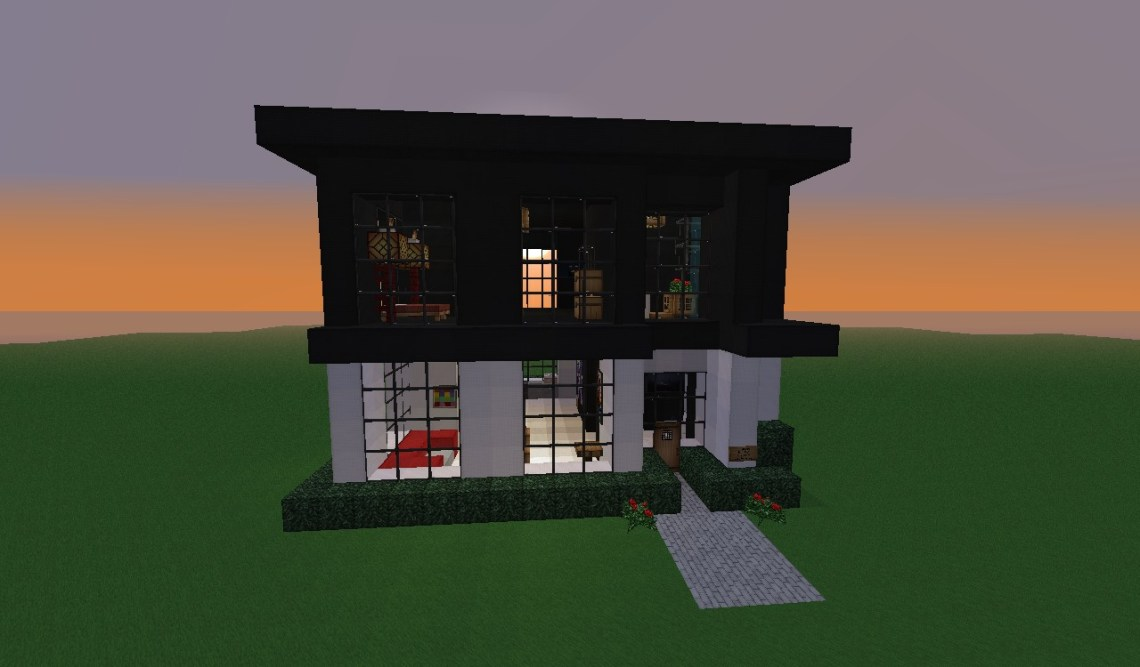 Modern house small 20x20 Minecraft Map