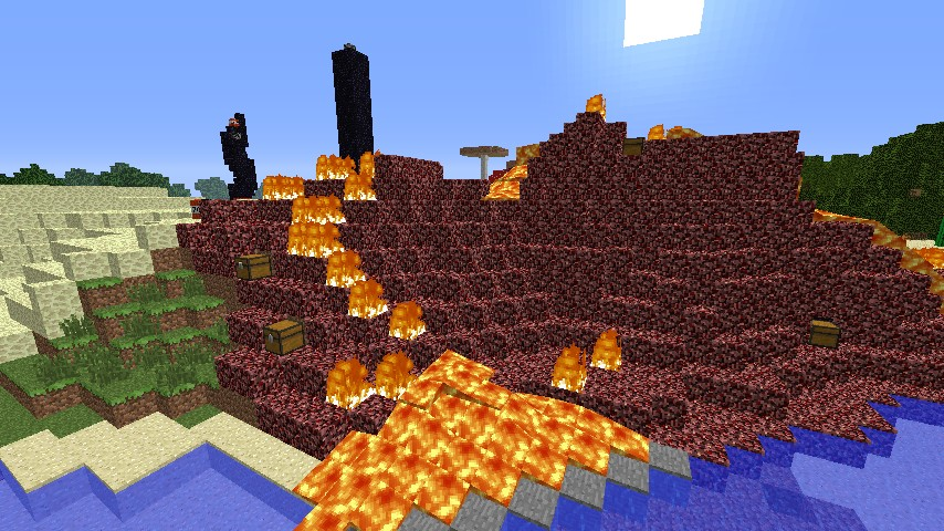 2 PLAYER BIOME PVP MAP Minecraft Project