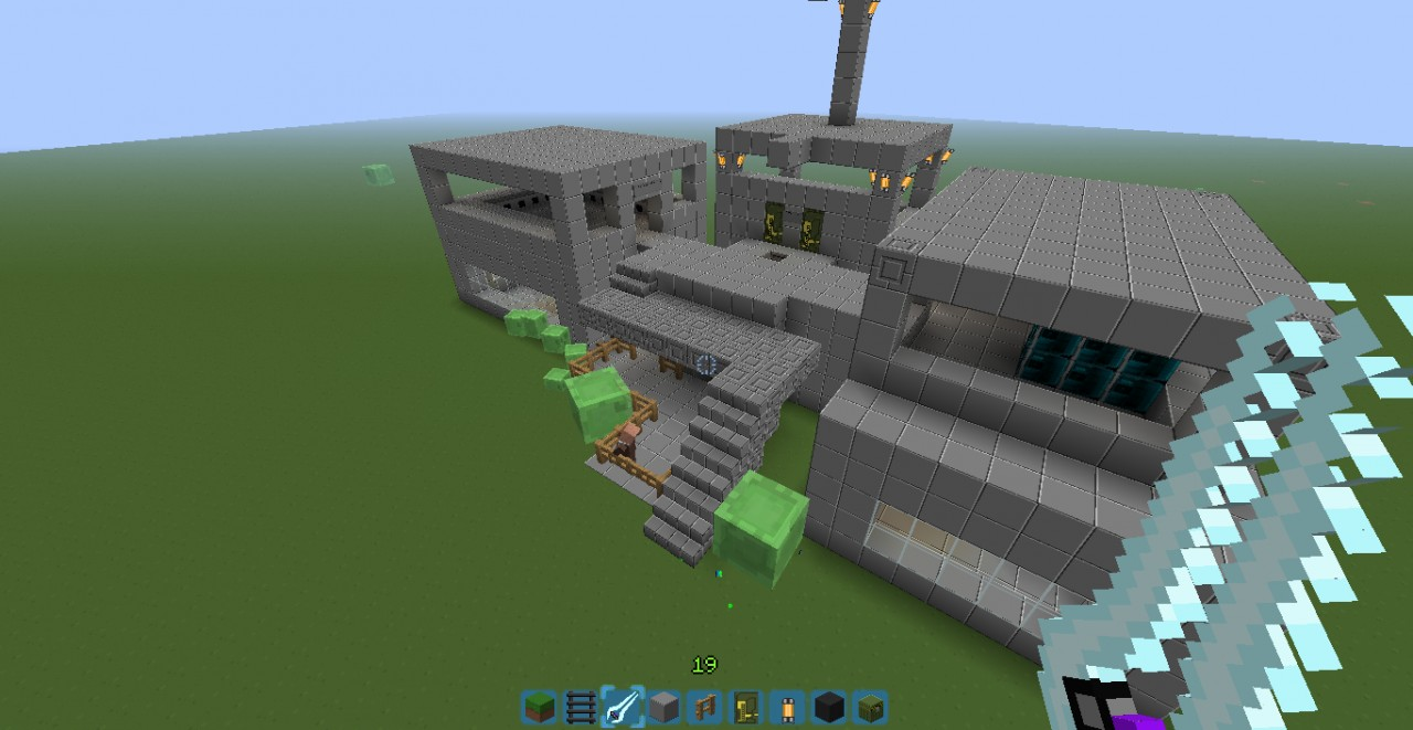 The Halo Command Center Minecraft Project