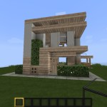 Minecraft Small Modern House Minecraft Map