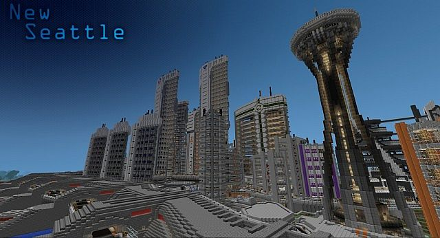 New Seattle Minecraft Project