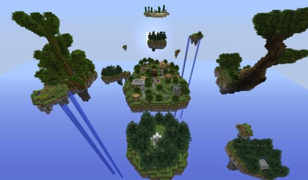Sky Wars PvP In The Sky! Minecraft Blog