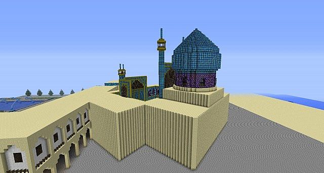 Imam Mosque Isfahan Minecraft Project