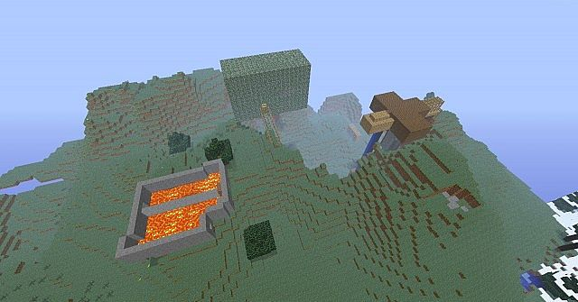 Epic Minecraft World That For Fighting Epic Seed Minecraft