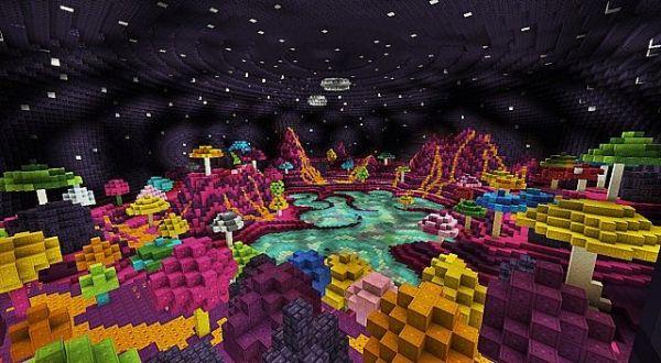 Sabina - Alien Mushroom Planet Minecraft Project