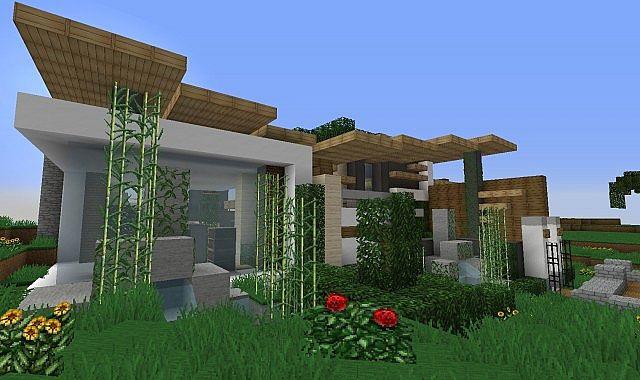 A Modern Home Minecraft Project