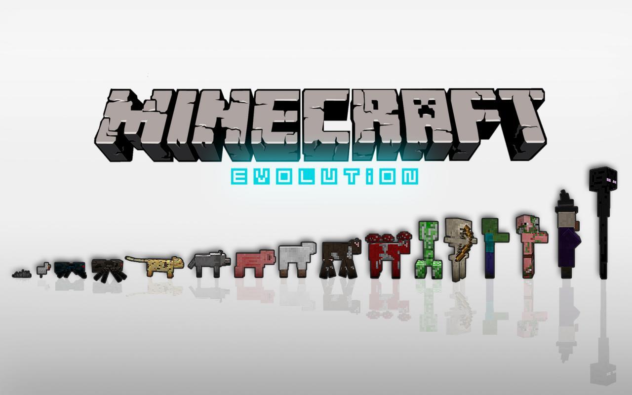 Minecraft Evolution Wallpaper Minecraft Blog