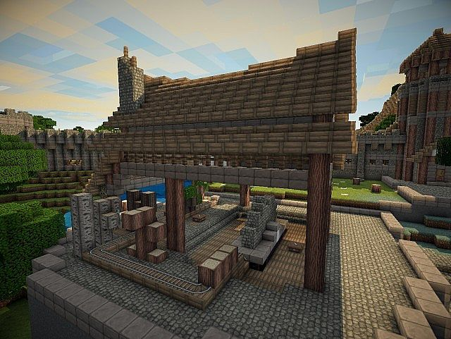 Nations At War Season 2 Medieval Building Bundle Minecraft Project