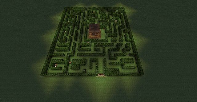 Easy Maze Minecraft Project