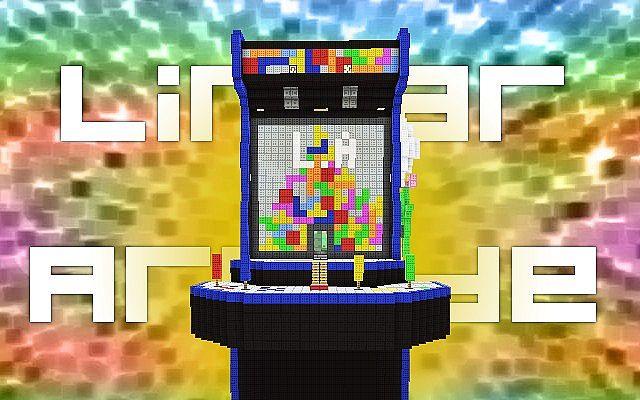 Linear Arcade Parkour Map Minecraft Project