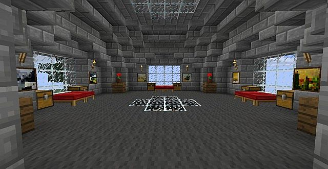 Modern Survival Base Minecraft Project