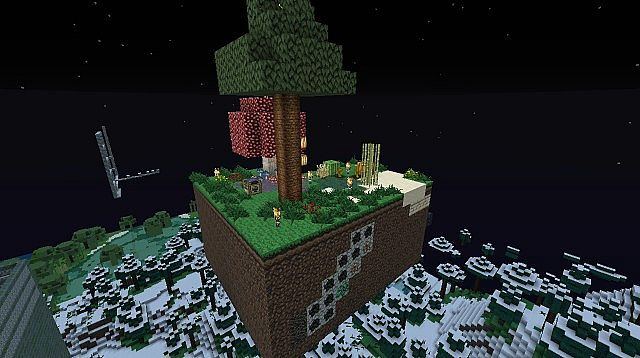 Skyblock Island Minecraft Project