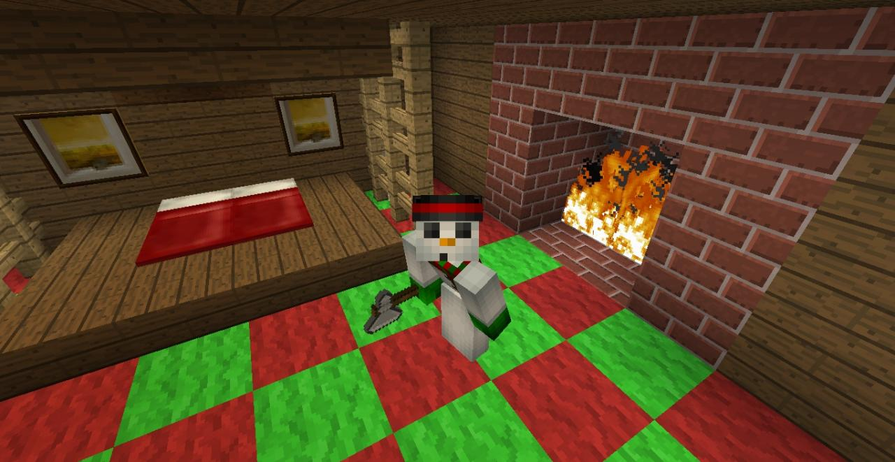Christmas House Minecraft Project