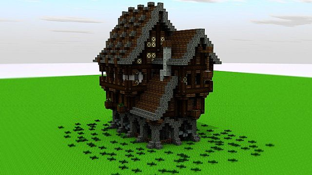 Medieval Blacksmith Minecraft Project