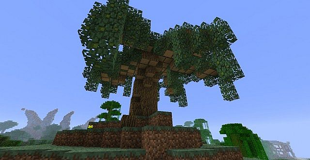 Small Weeping Willow Minecraft Project