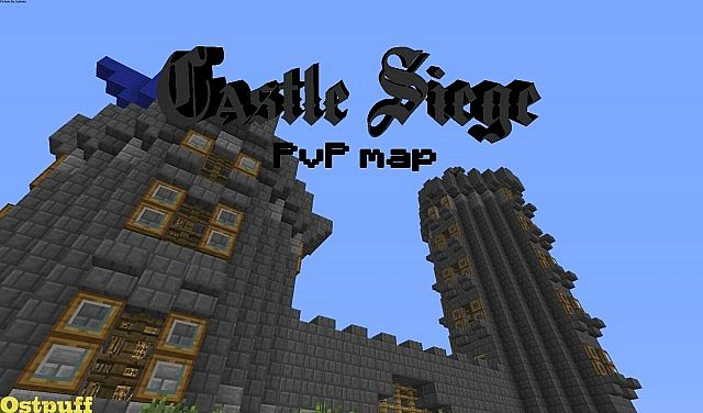 Multiplayer Castle Siege PvP Map Minecraft Project