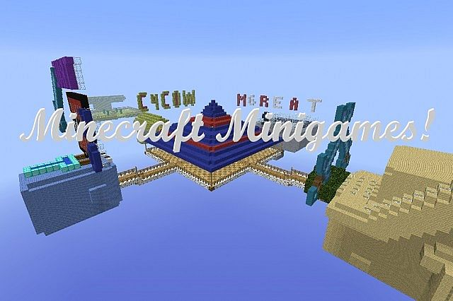 Minigames Minecraft Map Minecraft Project