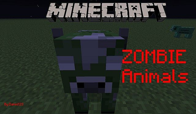 Zombie Animals More Mobs 146 Forge Minecraft Mod