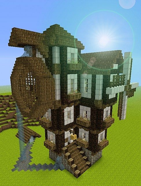 Steampunk Medieval Building Bundle Minecraft Project