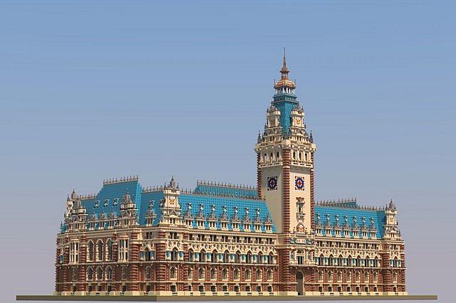 Hamburg City Hall Minecraft Project