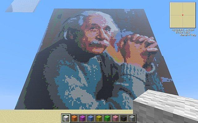 Pixel Art Generator Minecraft Mod