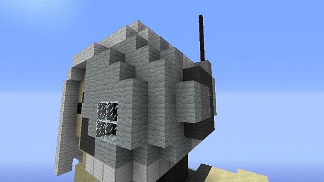 Minecraft Skeleton Statue