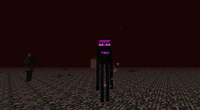 Night Gold Skin Minecraft Enderman